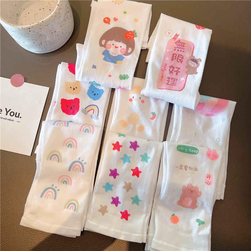 儿童夏季防晒袖套女冰袖护臂手袖可爱卡通宝宝男童女童冰丝袖护袖