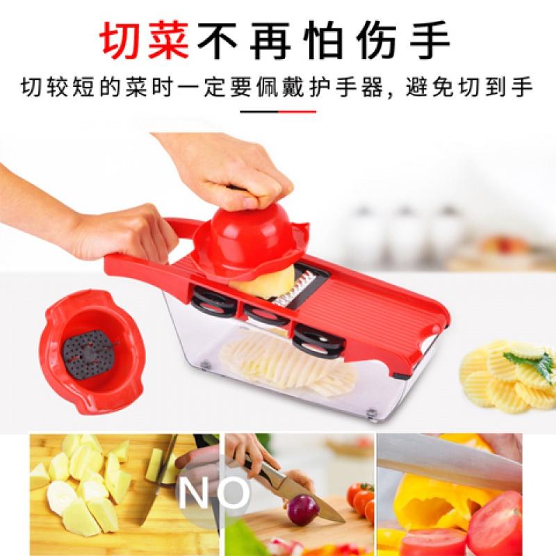家用多功能刨丝神器不锈钢切菜器切丝土豆片磨蓉擦丝省力厨房用品