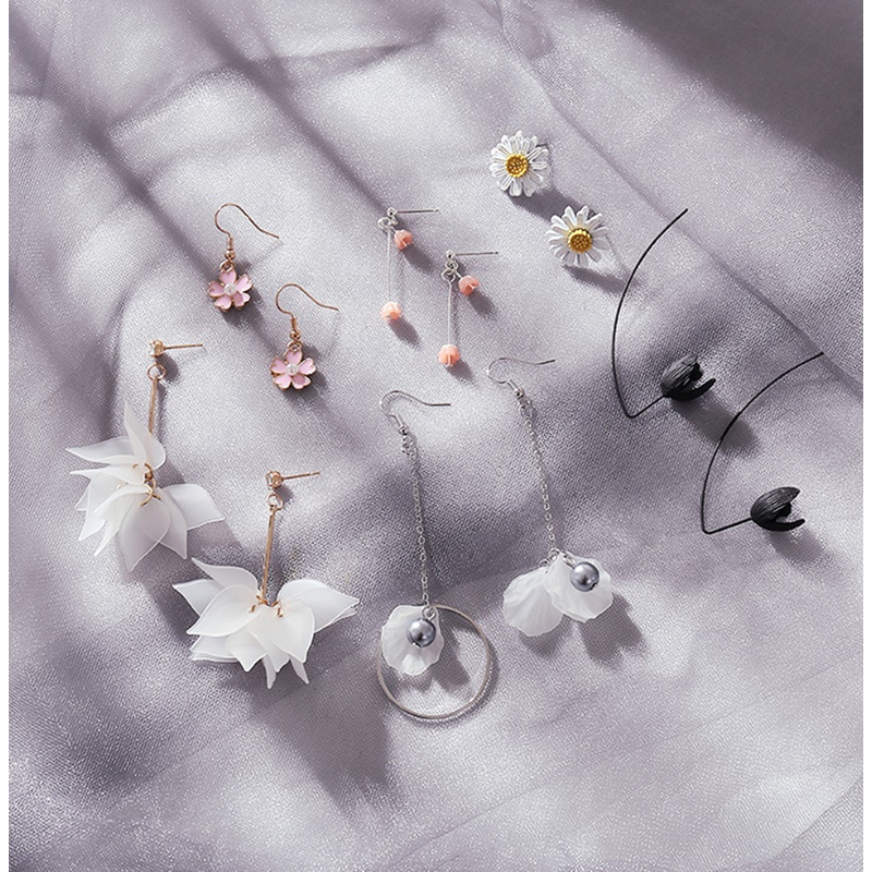 Air hanging fairy Earrings Ring temperament small fresh Earrings beautiful sweet forest exquisite ring