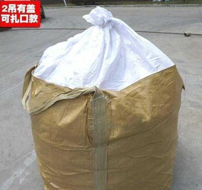 大型工地布袋内衬承重污泥预压袋吊装耐用用品使用包裹专用吊袋吨