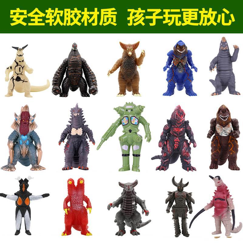 Childrens toys Altman soft rubber monster doll ponton red king brother morazhiton dead sickle five emperors super beast