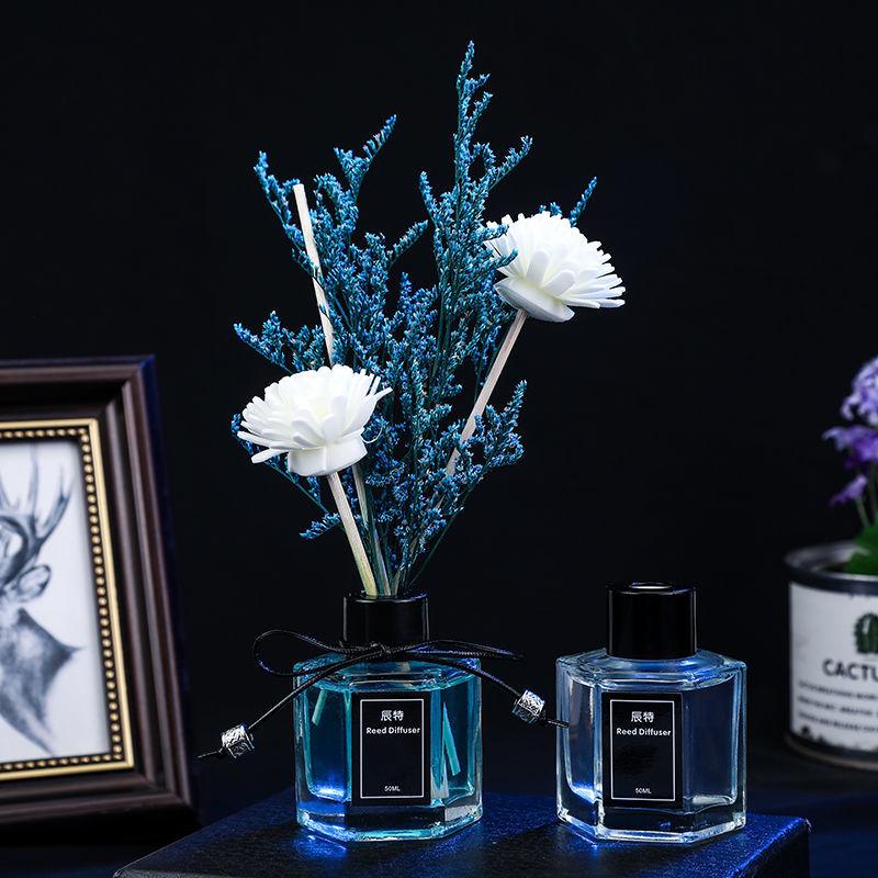 香薰精油家用卧室内持久熏香摆件空气清新剂房间卫生间除臭清香剂