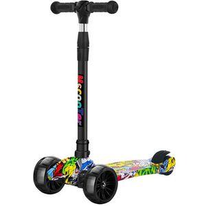 2021滑板车儿童2-6岁8以上幼小孩踏板可坐骑滑男孩女孩单脚滑新品