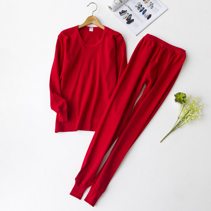 Cotton sweater, high and low autumn trousers, old-fashioned collar, extra fat, pure cotton autumn clothes and warm suit, thickened for middle-aged and old people