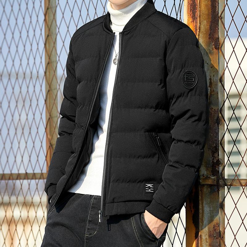 棉衣男士秋冬季外套2021新款爆款潮流加厚羽绒棉服工装潮牌棉袄潮