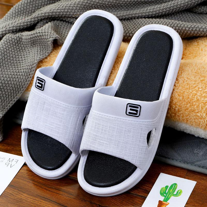 潮男拖鞋夏季外穿韩版凉拖鞋时尚个性厚底沙滩家居浴室一字拖鞋