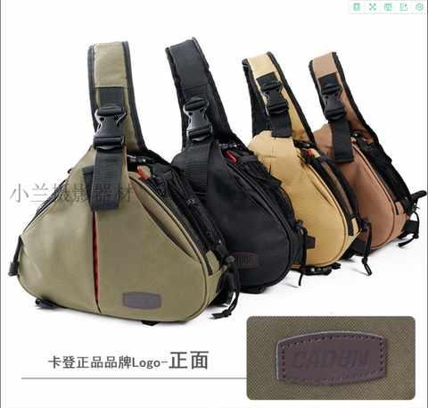 High grade Carden K1 camera bag 5d25d360d photography bag camera bag SLR triangle bag SLR Camera Bag
