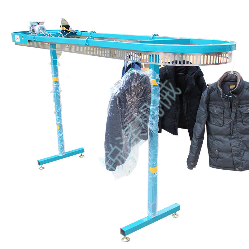 Single layer dry cleaner clothing factory clothing conveyor laundry auxiliary equipment hanging machine