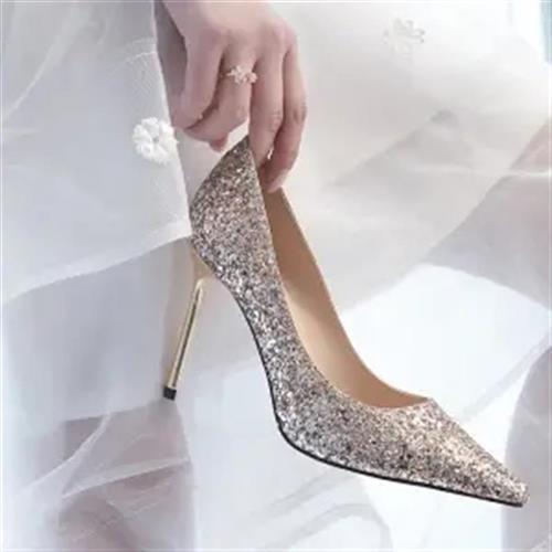 送闺蜜少女公主18岁生日礼物成人礼高跟鞋n成年水晶十八仙学生细