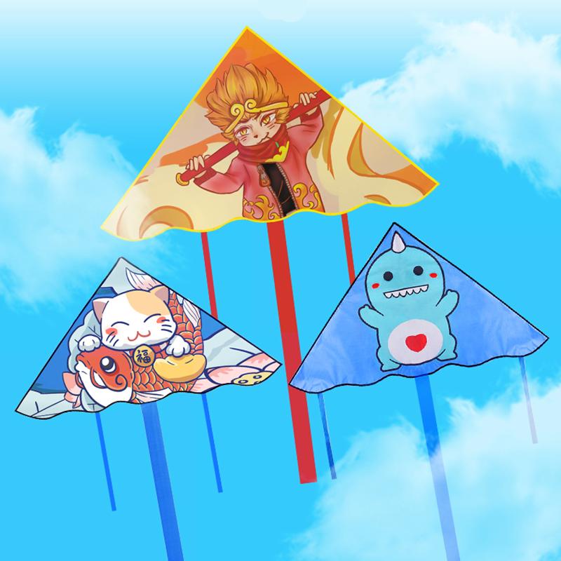风筝中国风动态小风筝2020年新款长尾巴儿童玩具仙女8岁超微风9岁