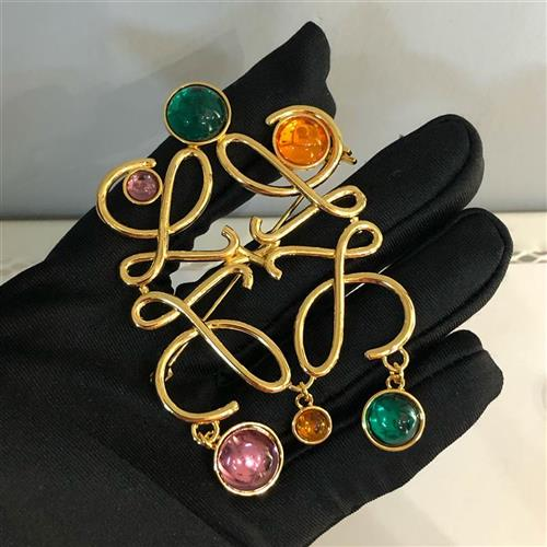 Pin European and American Brooch versatile square color w accessories suit fresh out of stock cut-out Brooch geometry