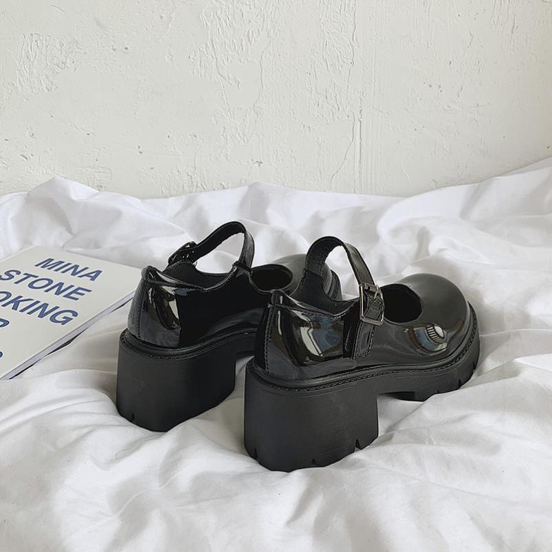 中國代購 中國批發-ibuy99 高跟鞋 lolita高跟小皮鞋女英伦风2021春秋新款日系jk制服厚底高跟洛丽塔