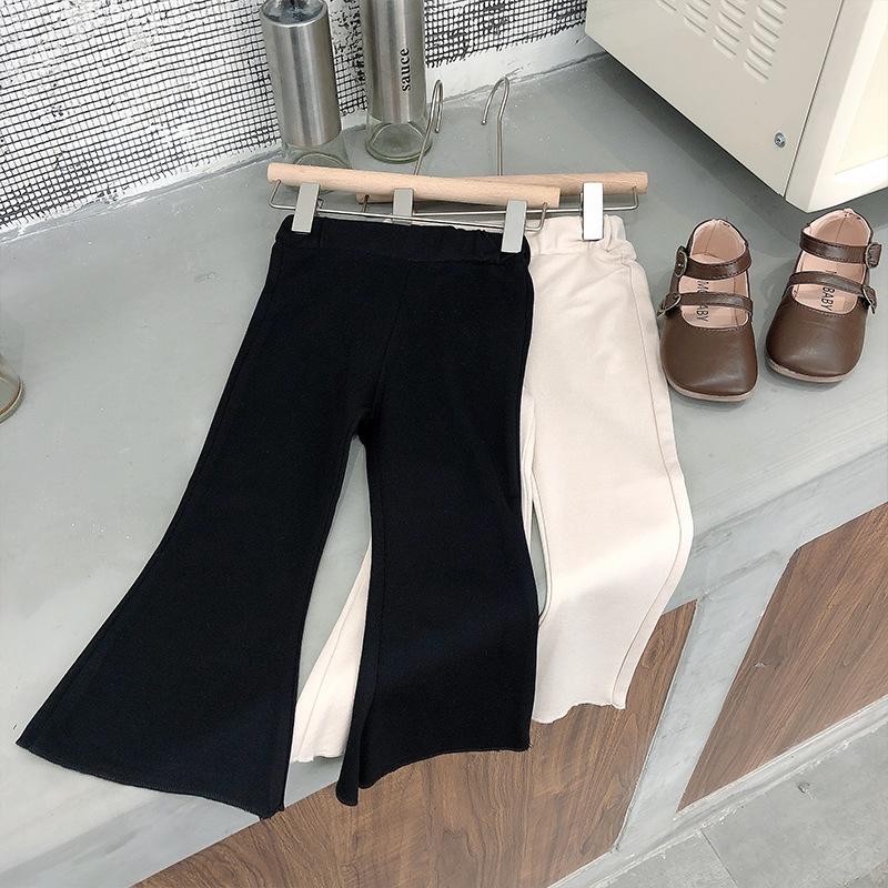 女童休闲裤夏款2021新款童装宝宝薄款长裤韩版儿童气质喇叭裤