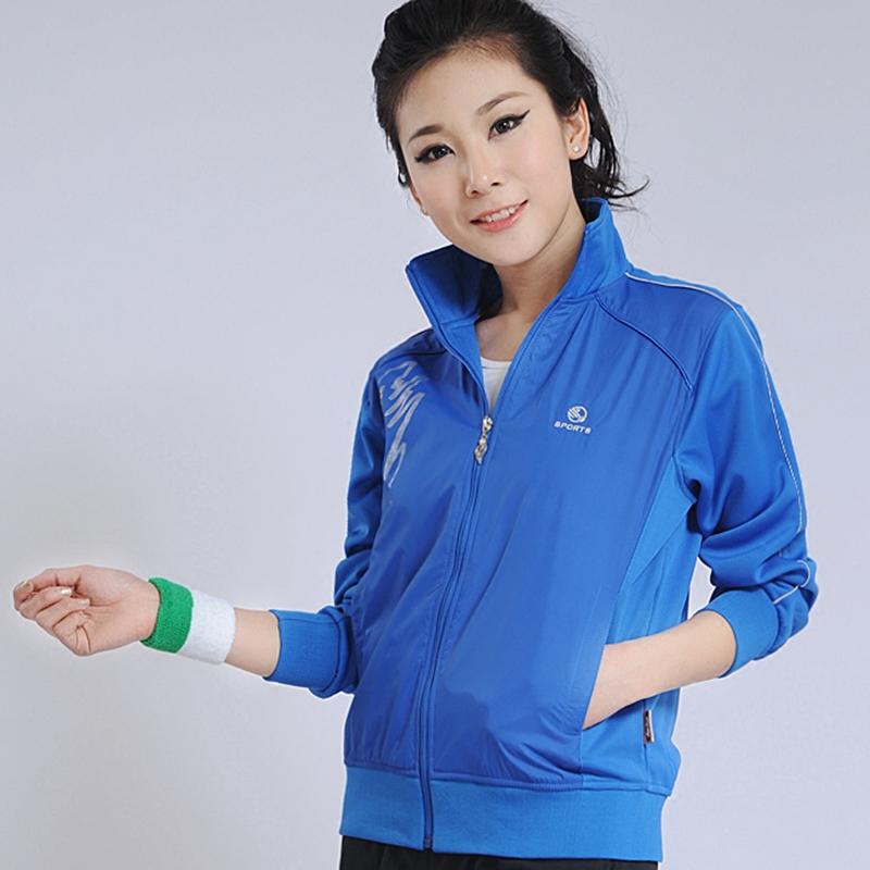 。运动夹克春秋外套情侣r款南韩丝贴布户外茄克男女修身休闲单件