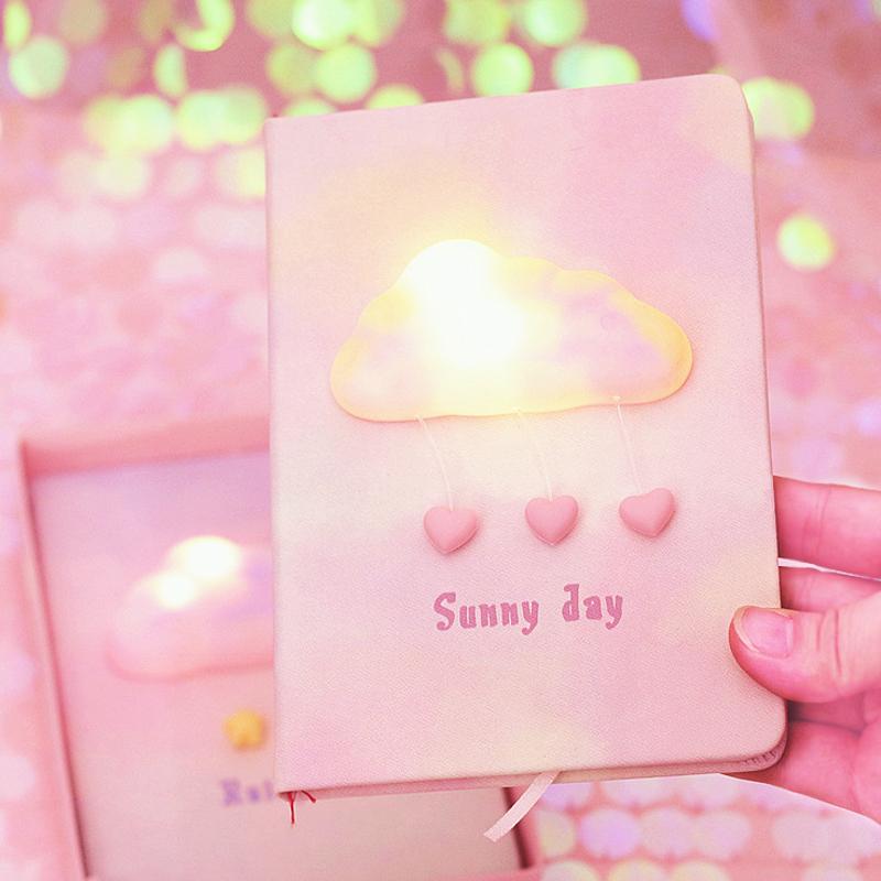 发光的送给物女生礼物纪念账本ins手东西爆棚心的小有少女生日
