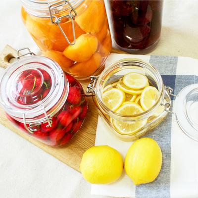 密封罐玻璃瓶子透明储蓄罐家用糖罐冰箱保鲜瓶装食品腌制罐蜂蜜瓶
