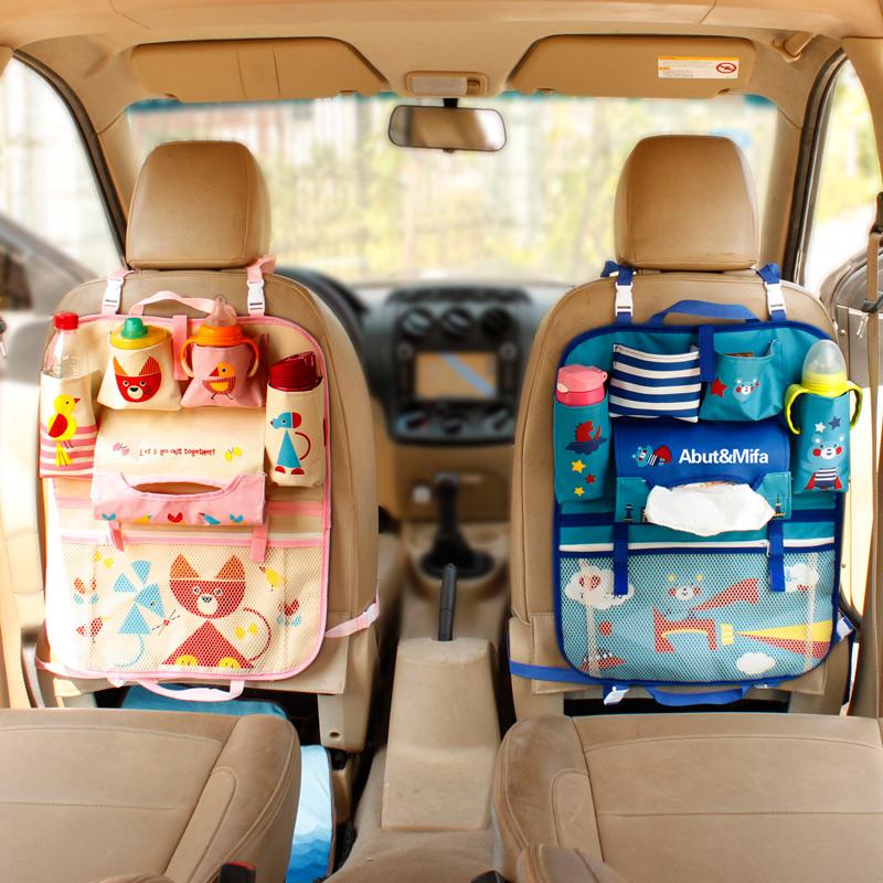 汽车椅背置物袋多功能车载座椅后背挂袋车用储物箱车内收纳袋用品