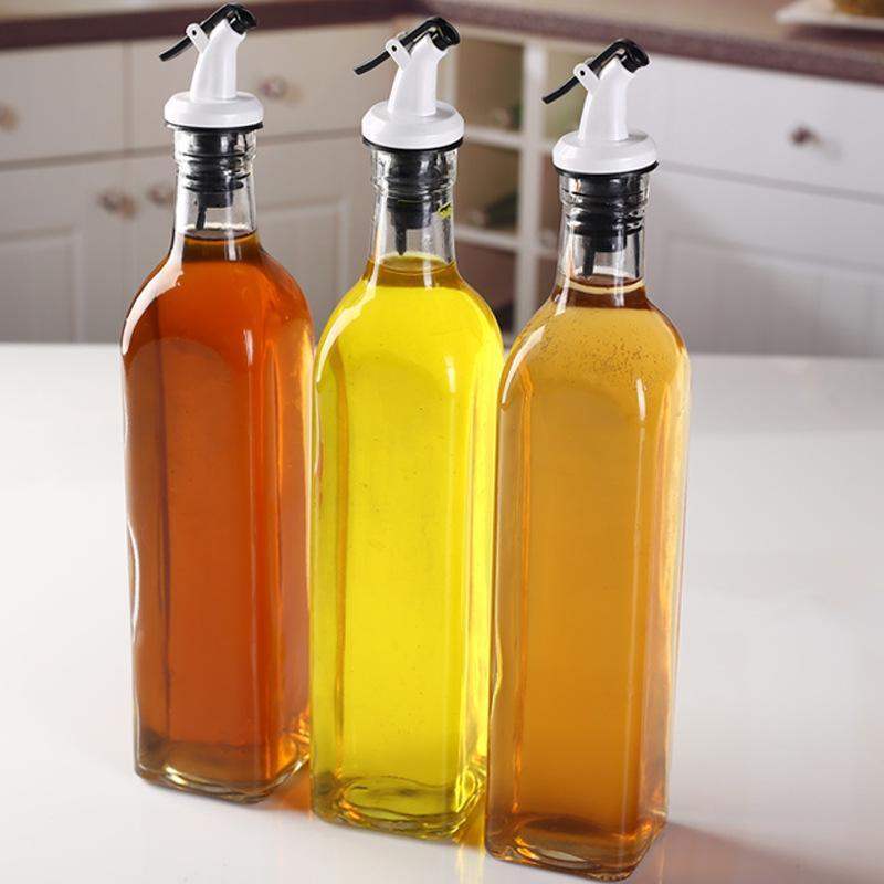 瓶塞 调料瓶盖 油嘴密封油瓶塞子油壶盖子红酒塞按压式油瓶塞 Изображение 1