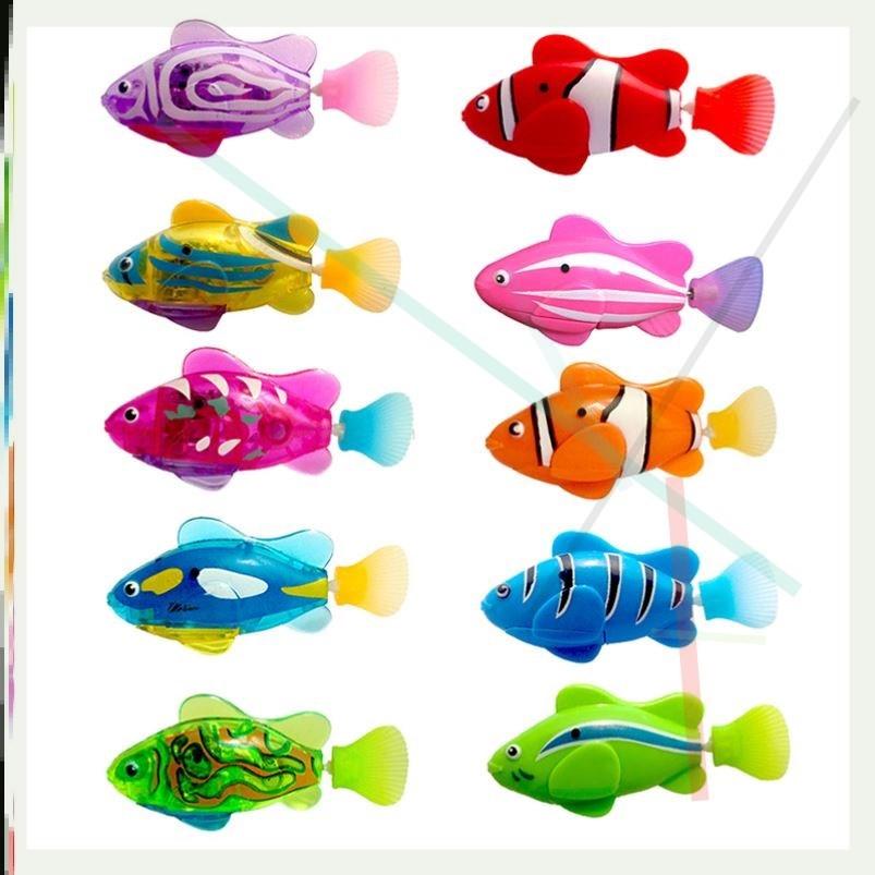 中國代購|中國批發-ibuy99|电子玩具|假鱼仿真会游洗澡玩具鱼 感应鱼 电子鱼电动小鱼儿童泳摇摆鱼戏水