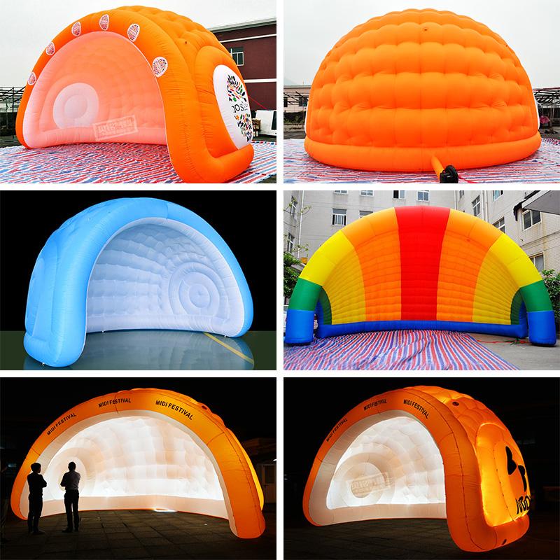 中國代購|中國批發-ibuy99|���������������|拱门开业月亮气模新款防雨户外促销会展车企广告庆典活动充气帐篷