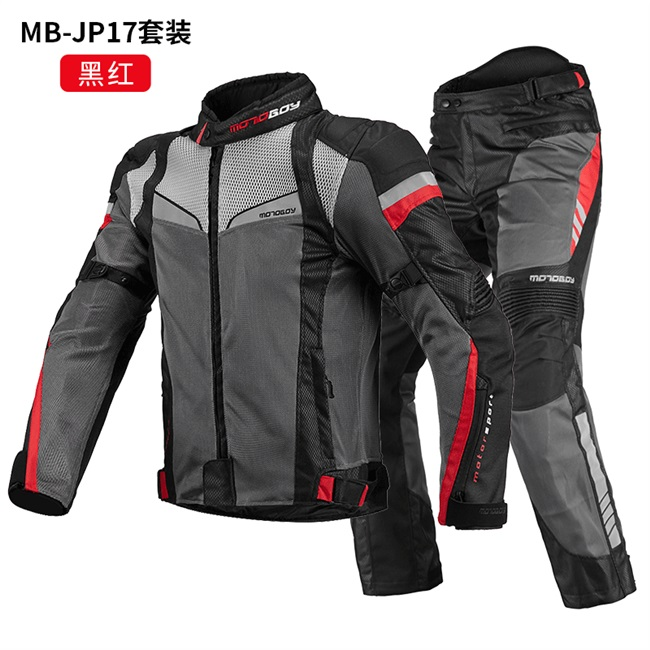Motorcycle mesh autumn motorcycle riding suit mens suit womens breathable anti fall jacket racing suit