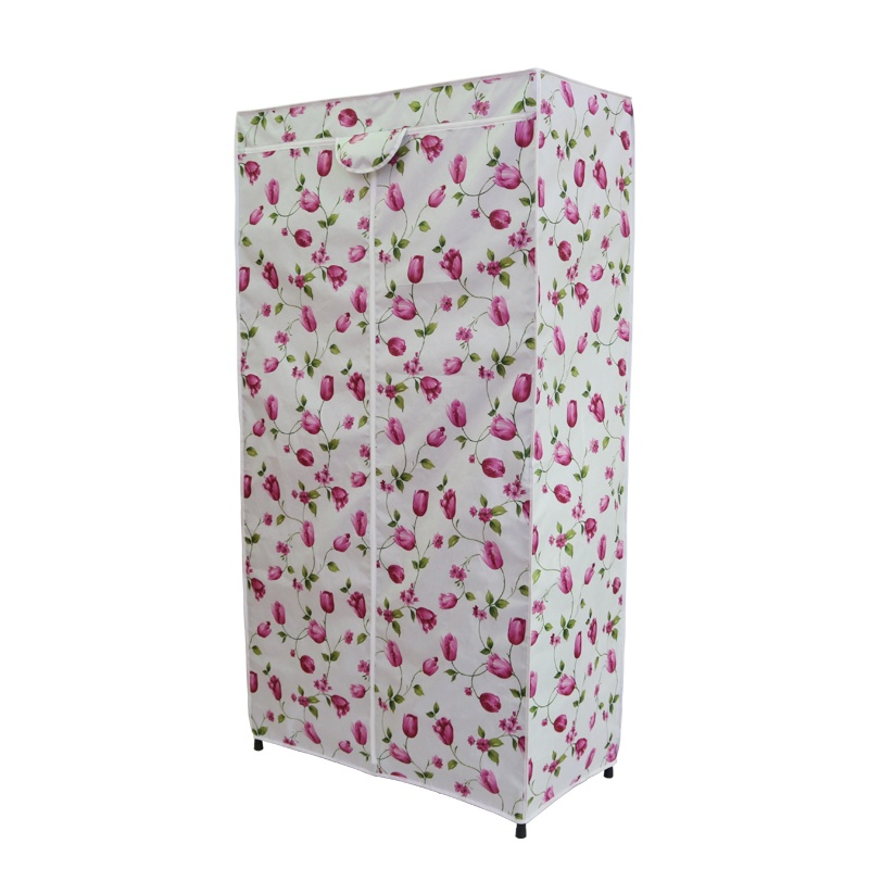 Cloth cabinet cover cloth shelf dust cover simple wardrobe cover single selling canvas shoe rack cloth cover thickened