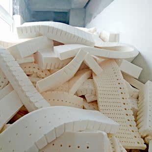 天然乳胶填充物 碎乳胶长条 泰国天然乳胶 DIY乳胶枕头抱枕 坐垫