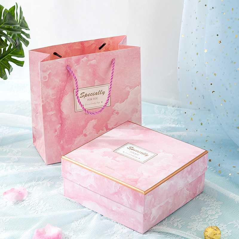 Mothers day anniversary gift empty box oversized gift for the object female 520 packing box