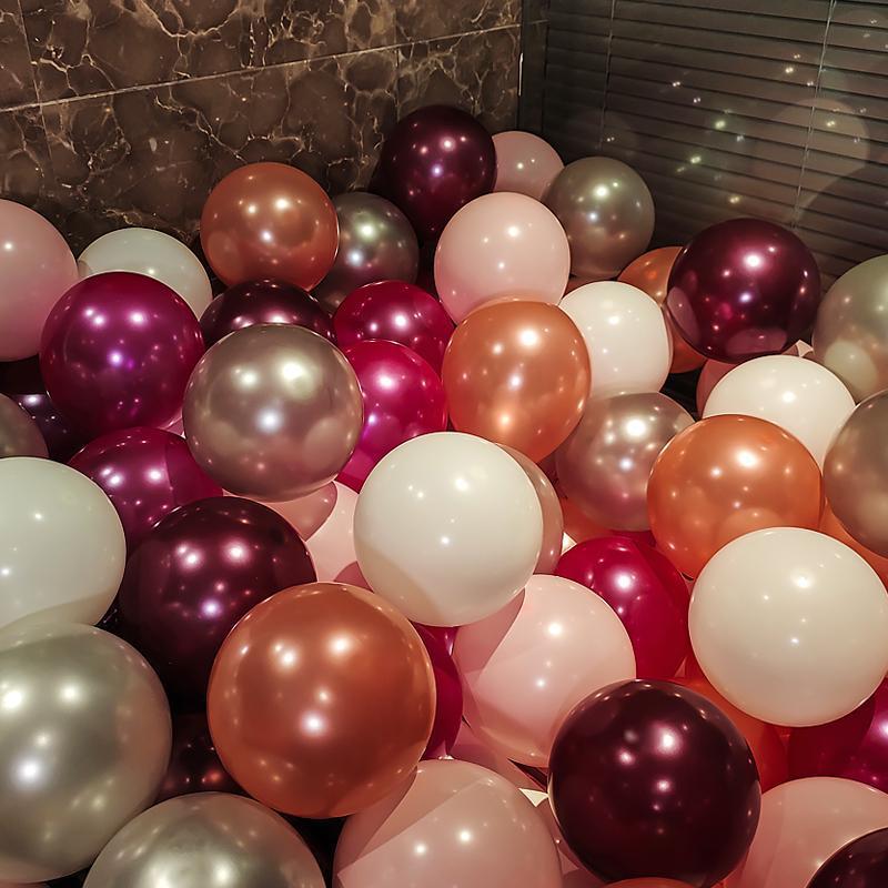 中國代購 中國批發-ibuy99 派对用品 加厚珠光气球野餐装饰创意婚礼结婚房场景布置生日派对布置用品