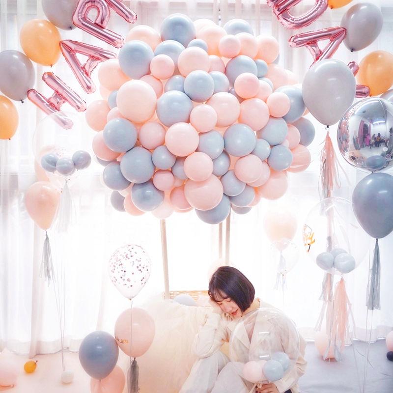 中國代購 中國批發-ibuy99 派对用品 ins马卡龙气球婚房装饰网红创意婚礼布置结婚用品生日派对