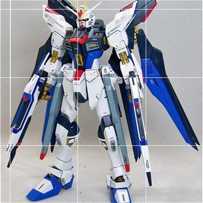。 Huiyan Gaogao Hg1 / 1m4op4 creates a surprise attack, which is assembled by destiny Unicorn flying from the Phoenix wing of X demon king