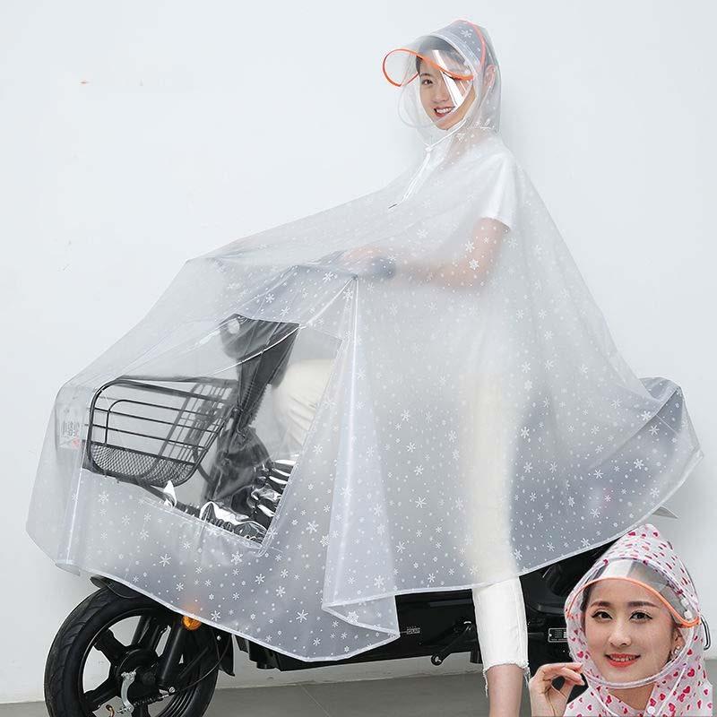 雨衣电动车摩托车遮脚单人雨披电瓶车男女士成人双人加大加厚雨披
