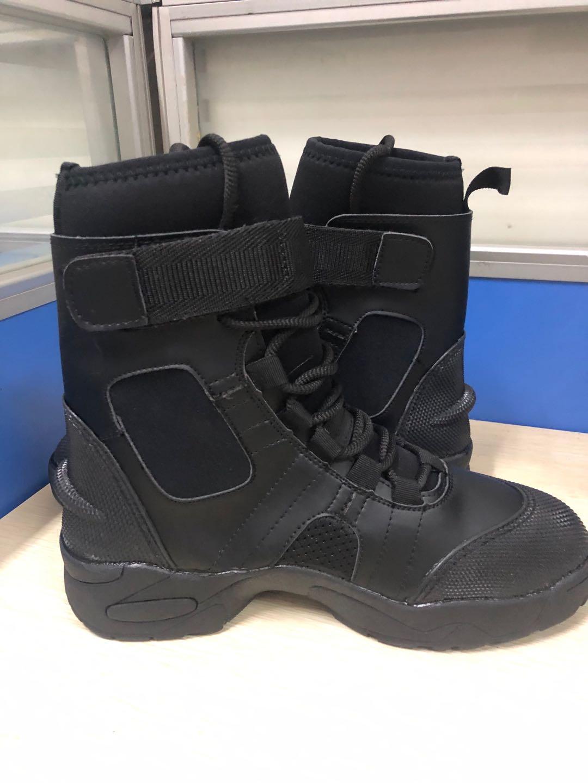 高帮消防抢险靴 水域救援靴 水面作业鞋 水陆两用潜水鞋