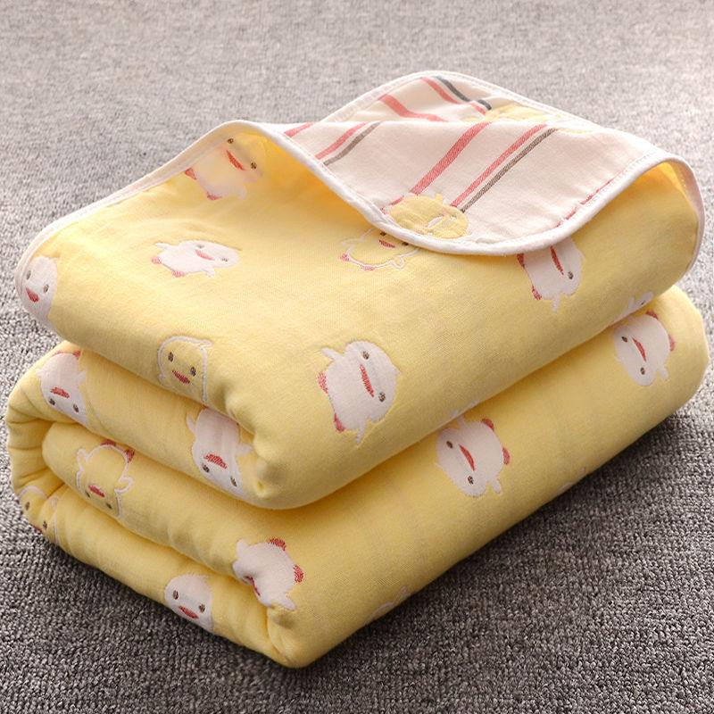 中國代購|中國批發-ibuy99|浴巾|婴儿浴巾儿童纯棉纱布吸水超柔宝宝毛巾被洗澡巾新生儿盖毯被子冬