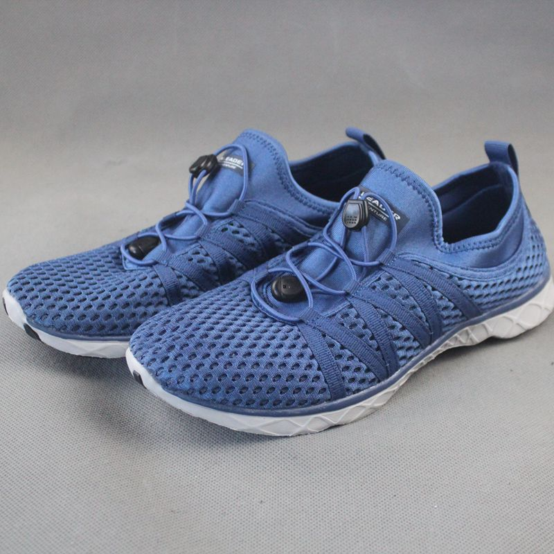 Summer running shoes hollowed out 2021 new breathable mesh Suoxi shoes drainage beach shoes mens and womens shoes amphibious shoes