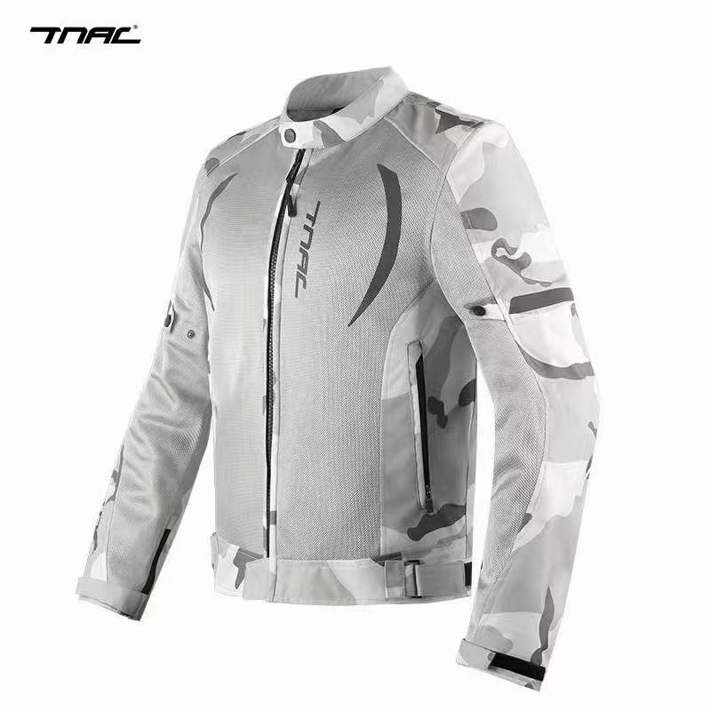 Motorcycles, motorcycles, motorcycles, motorcycles, topaz summer cycling clothes, mesh jacket, breathable, leisure and fall proof racing car