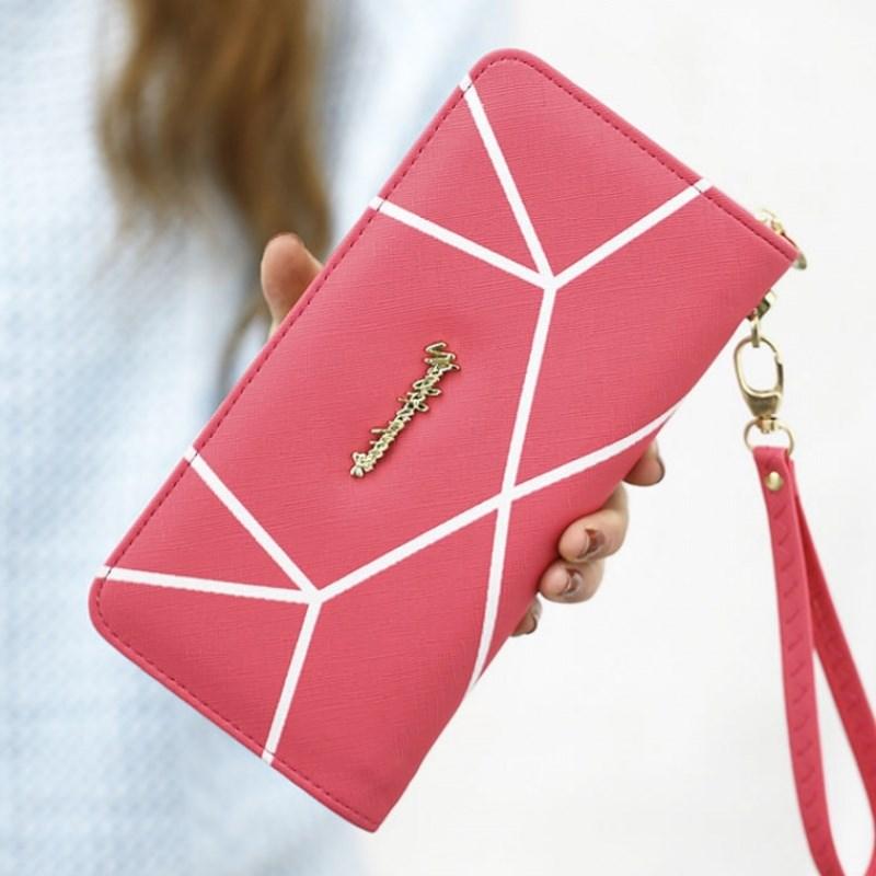 Cabinet money hand bag wallet woman [long upgrade lady purse zipper wallet wallet woman new] eldest daughter