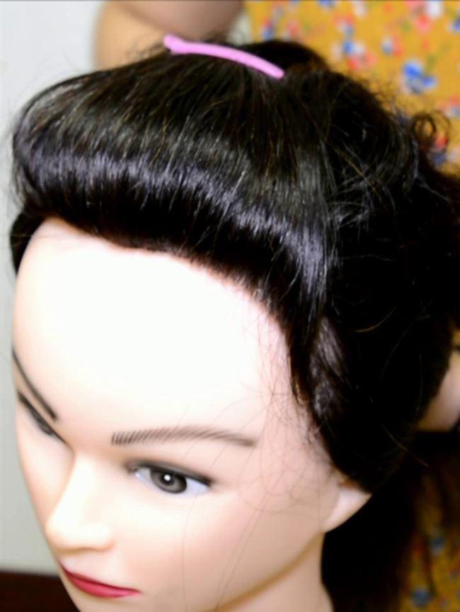 新刘海片头顶补发片真发发块假发片无刘海往后梳蓬松补发块无痕发
