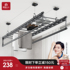 Mrs. Jingui lifting drying racks hand-operated balcony clothes rail double-pole indoor automatic folding quilt cooler