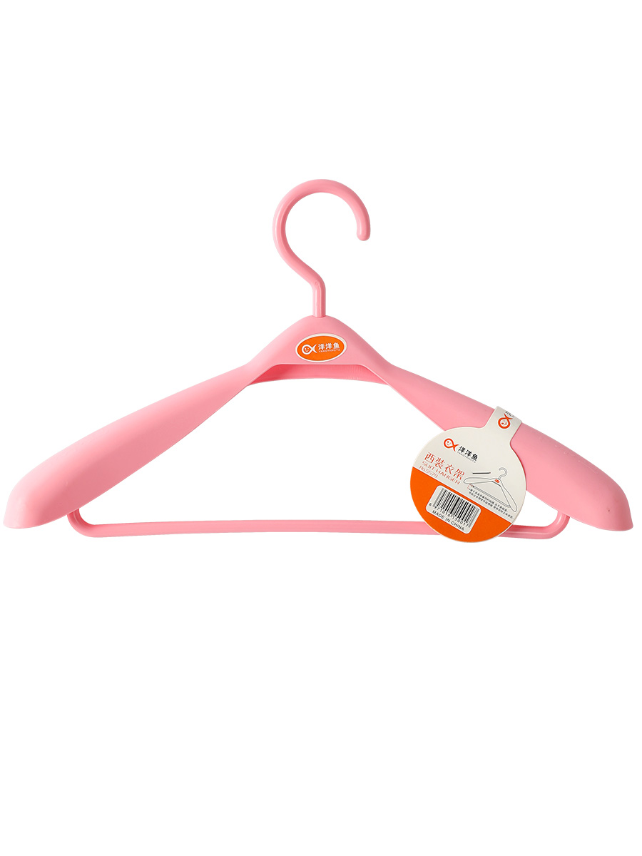 Plastic hanger thickened without mark cant afford to pack suit coat coat hanging wide shoulder adult men and women household