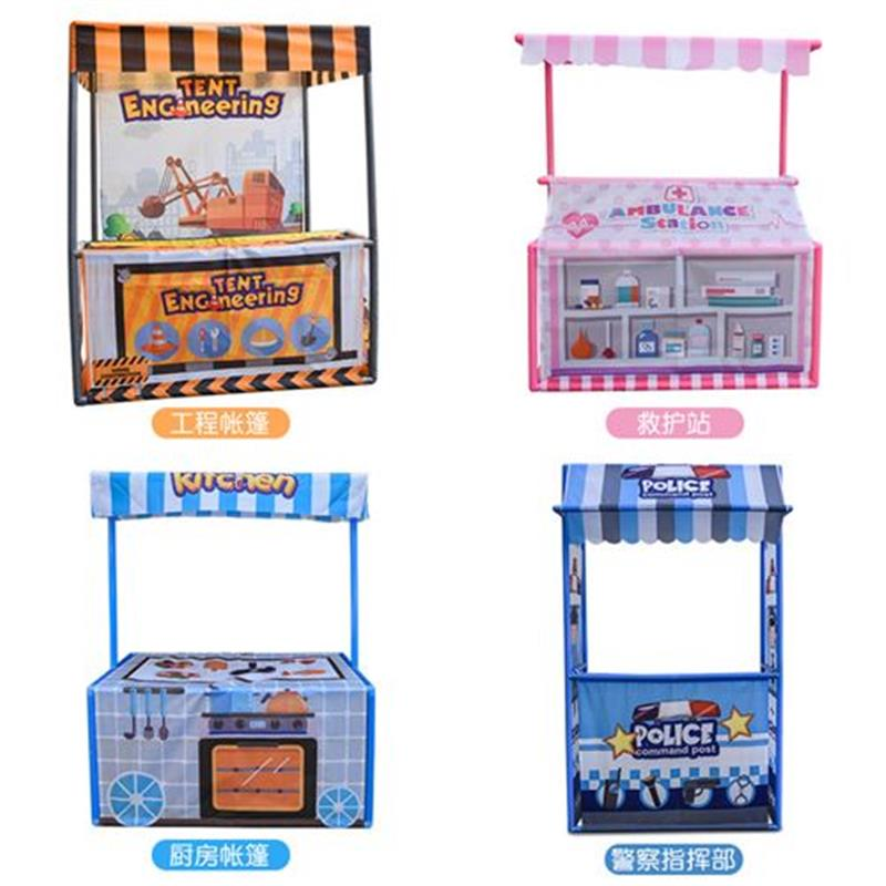 Retail customized childrens tent small house role play baby toy ocean ball Princess Game House