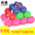 Dumbbell rubberized ladies and men general small dumbbells 2KG 3LB4 pounds dipping dumbbells home fitness equipment thin arms