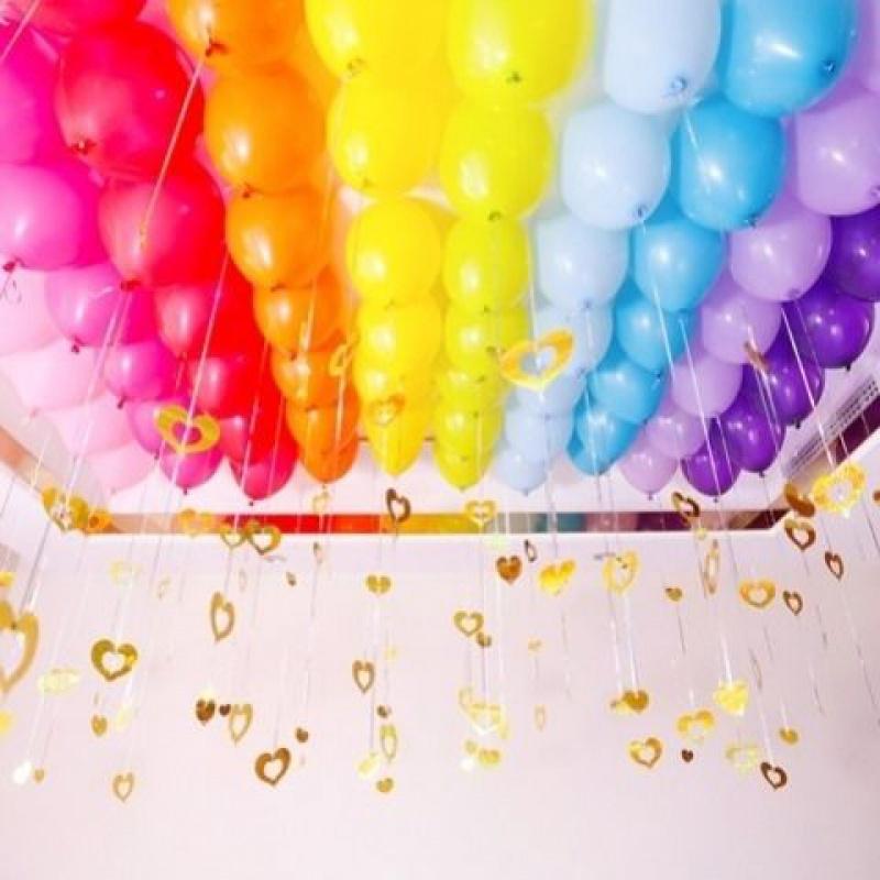 中國代購 中國批發-ibuy99 派对用品 婚庆结婚用品加厚乳胶气球浪漫婚房卧室装饰创意生日派对活动布置