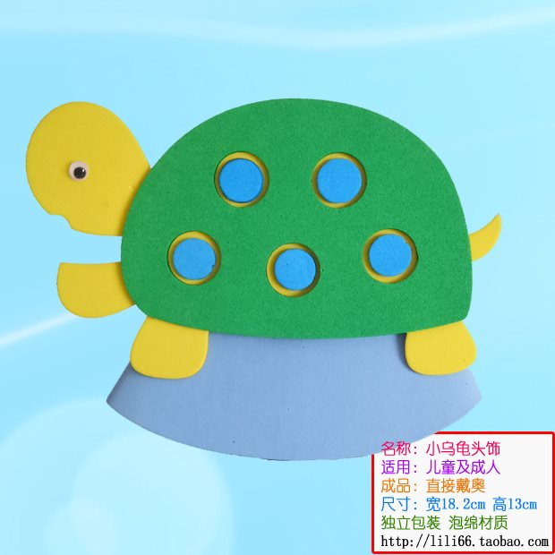 Eel headdress performance props Animal Hat childrens role play dress up ocean full package mail promotion 2