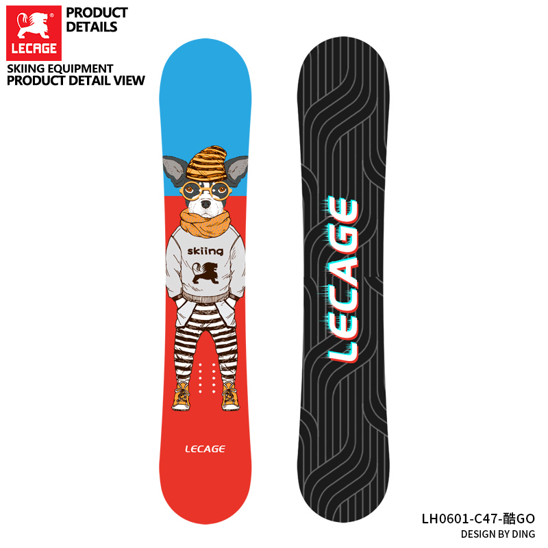 Professional Snowboard all-round Snowboard novice beginner exercise board mens and womens adult Snowboard equipment 163
