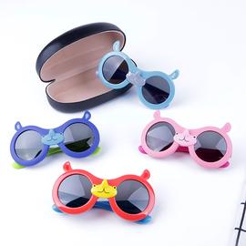 偏光眼镜儿童春夏出游遮阳墨镜2-9岁小孩太阳镜蛤蟆镜卡通遮眼镜图片