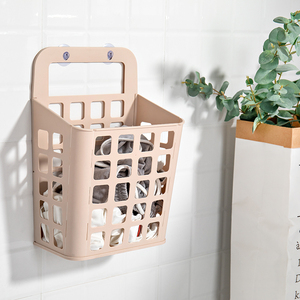 可折叠脏衣篮壁挂式卫生间收纳筐家用浴室脏衣服玩具篓免打孔挂墙