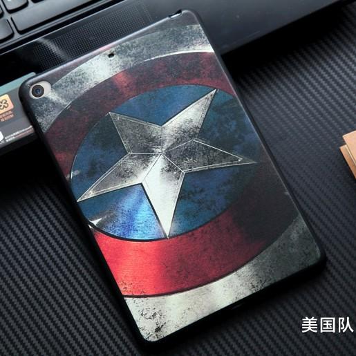 蘋果iPad mini4保護套迷你4外殼韓國卡通薄迷你4後蓋防摔包邊軟