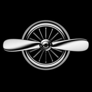 汽车内车寨香水车载空调出风口小风扇车上飞机头用品新车必备神器