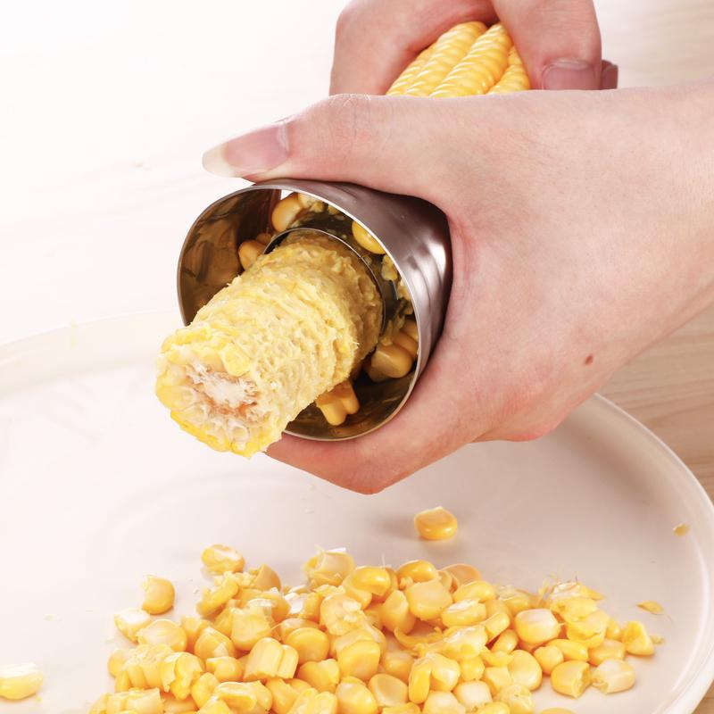 304不锈钢 玉米脱粒器 家用剥玉米刨刀厨房小工具 刮玉米粒神器